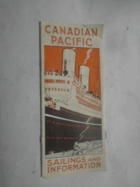 Canadian Pacific - Sailings and Information